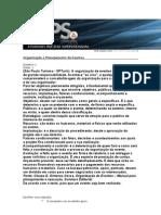 RESPOSTAS+DE+ORGANIZAÇÃO+E+PLANEJAMENTO+EM+EVENTOS