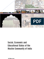 The Sachar Committee Report- Social, Economic and Educational Status of the Muslim Community of India