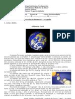 Prova Bimestral Geografia Abril2013