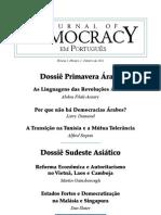 Journal of democracy em português_Vol2 primavera arabe