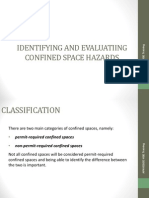 002 Identifying and Evaluating Confined Space Hazards