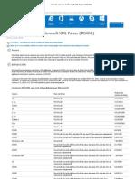 Liste des versions de Microsoft XML Parser (MSXML).pdf