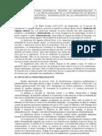 13.1 TRANSFORMACIONES ECONÓMICAS