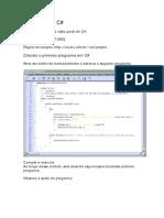Iniciando Em C# (Com Mono)