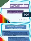 EDU 501- Communication