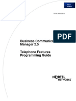 BCM 2.5 Telephone Features Programming Guide - Version 2