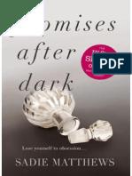 Promises After Dark 03 - Sadie Matthews 03
