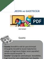 Sunum Sosyal Medya Gazetecilik