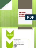 Enquiry Management System