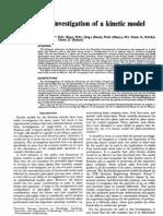 A Pilot Plant Investigation of a Kinetic Model for Flotation