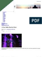 A New Belle Hotel in Paris   Blog   Stylesight.pdf