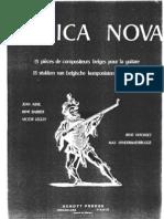 Musica Nova 13 Piezas de Compositores Belgas