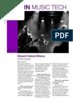 Desert Island Disc Newspaper