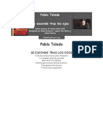 Toledo Pablo - Se Esconde Tras Los Ojos