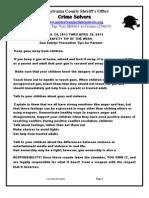 CS FOR 4-24- THRU 4-30-2013