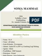 PPT laporan kasus CA Mammae