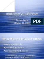 Hard Power vs. Soft Power