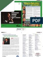 Newsletter - Nov 2012 Public Employee Maryland Council 67