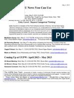 UU News 5.2.13