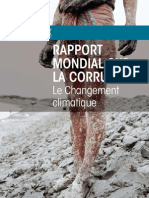 Global Corruption Report Climate Change French