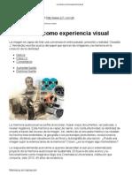 La memoria como experiencia visual.pdf