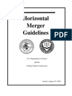 FTC Merger Guidelines