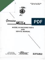 Mills Model M