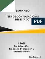 Seminario Taller Ley de Contrataciones 2da Parte