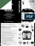 Manual Panela Mondial Pratic 6