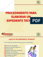 expediente técnico