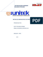 Metodo de Comparacion Por Factores (1)
