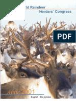2nd World Reindeer Herders Congress, 2001, Inari, Finland