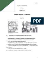 Ficha Formativa de HGP6 Mar2013