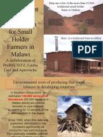 Development of Tobacco Rocket Barn Malawi