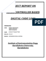 Project Report_code Lock
