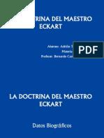 La Doctrina Del Maestro Eckart