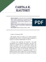 Friedrich Engels - Carta a Kautsky (Londres, 21 de mayo de 1895).docx