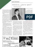 Estudiar música, para qué, por José Miguel Azorín Marco