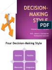 Decision- Making Style