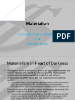 Heart of Darkness - Materialism