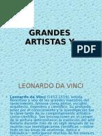 Grandes Artistas y Sus Principales Obras