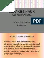Difraksi Sinar x