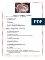 21st Century Skills for 21st Century Jobs Word Outline (2)