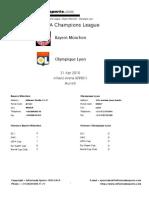 2009-10 (UCL) Bayern Munchen-Olympique Lyon (21.04.10)