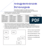 Homogenous Groups