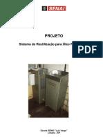 """Sistema de Reutilização de Óleo Refrigerante para Usinagem - Escola SENAI """"Luiz Varga"""""""