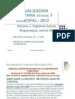 Adriana+Vigilanza+Jurisprudencia+Tributaria++Municipal+y+Estadal+Marzo+2012