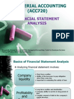 Financial Statemnt Analysis