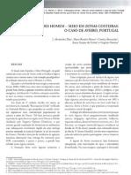 INTERACÇÕES HOMEM - MEIO EM ZONAS COSTEIRAS