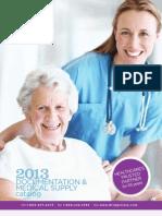 2013 DocumentationandMedicalSupplyCatalog